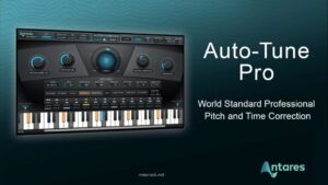 Antares AutoTune Pro 9.1.1 Crack Plus Serial Key Free Download