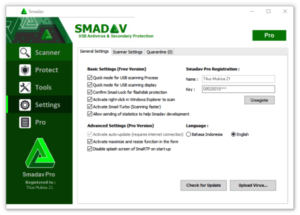 Smadav Pro Rev Crack 14.0 with Serial key 2020 Free Download