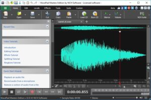 WavePad Sound Editor 10.67 Crack +Registration Code Free Download