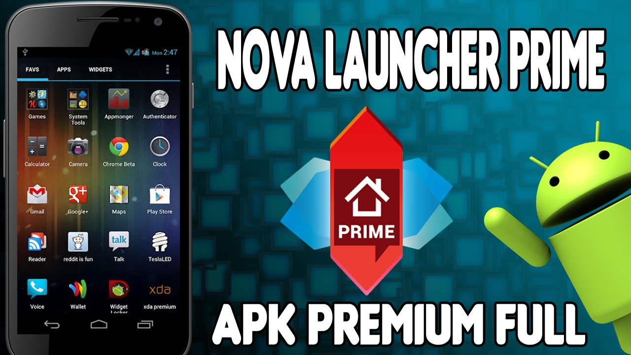 Nova Launcher Prime 6.2.13 Apk Mod for Android 2020